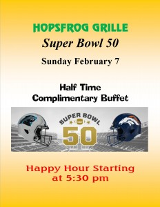 Hops Superbowl 2016